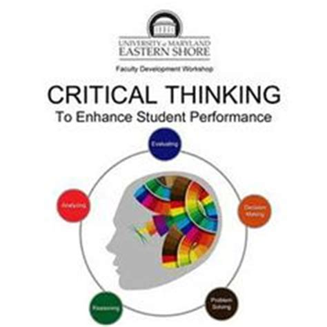 Reflection on critical thinking